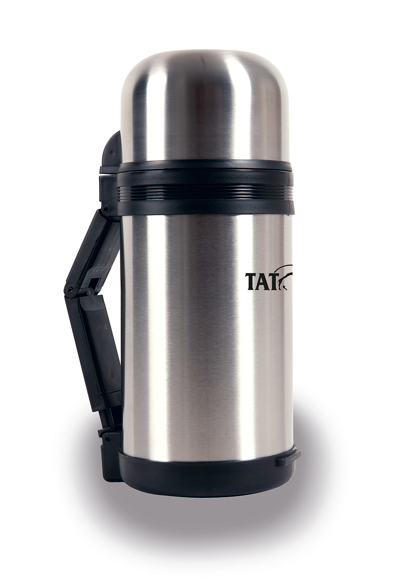 Термос Tatonka Hot & Cold Stuff, 1,2 л115510Отличный походный термос Hot & Cold Stuff от фирмы Tatonka. Термос такого объема отлично подходит даже для большой семьи. Он надолго сохранит горячими ваши любимые блюда и напитки. Термос можно использовать не только для горячих и холодных жидкостей, но и для любой еды. Благодаря широкому горлышку его удобно мыть и сушить. В комплекте ремешок для переноски.Диаметр термоса: 11,5 см.Высота термоса: 27,6 см.
