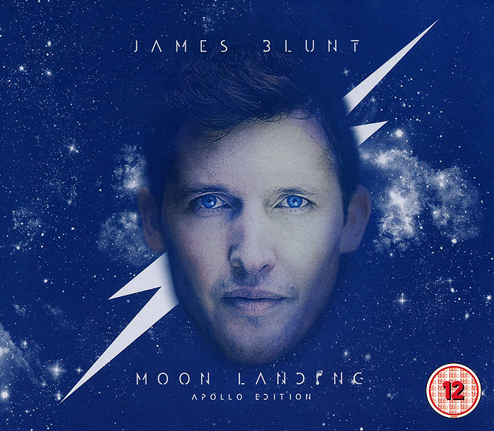 Джеймс Блант James Blunt. Moon Landing. The Apollo Edition (CD + DVD) джеймс блант james blunt all the lost souls deluxe edition cd dvd