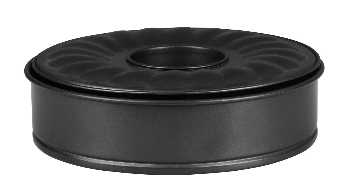 Набор разъемных форм для выпечки Bekker, с антипригарным покрытием, 3 предмета54 009305Набор Bekker состоит из формы для пирога, формы для кекса и съемной стенки. Все предметы набора выполнены из углеродистой стали с антипригарным покрытием Kingflon, благодаря чему пища не пригорает и не прилипает к стенкам посуды. Стенка имеет разъемный механизм, благодаря чему готовое блюдо очень легко достать из формы. Готовить можно с добавлением минимального количества масла и жиров. Антипригарное покрытие также обеспечивает легкость мытья. Стенки рельефные, что придает выпечке особую аппетитную форму. Для чистки нельзя использовать абразивные чистящие средства и жесткие губки.