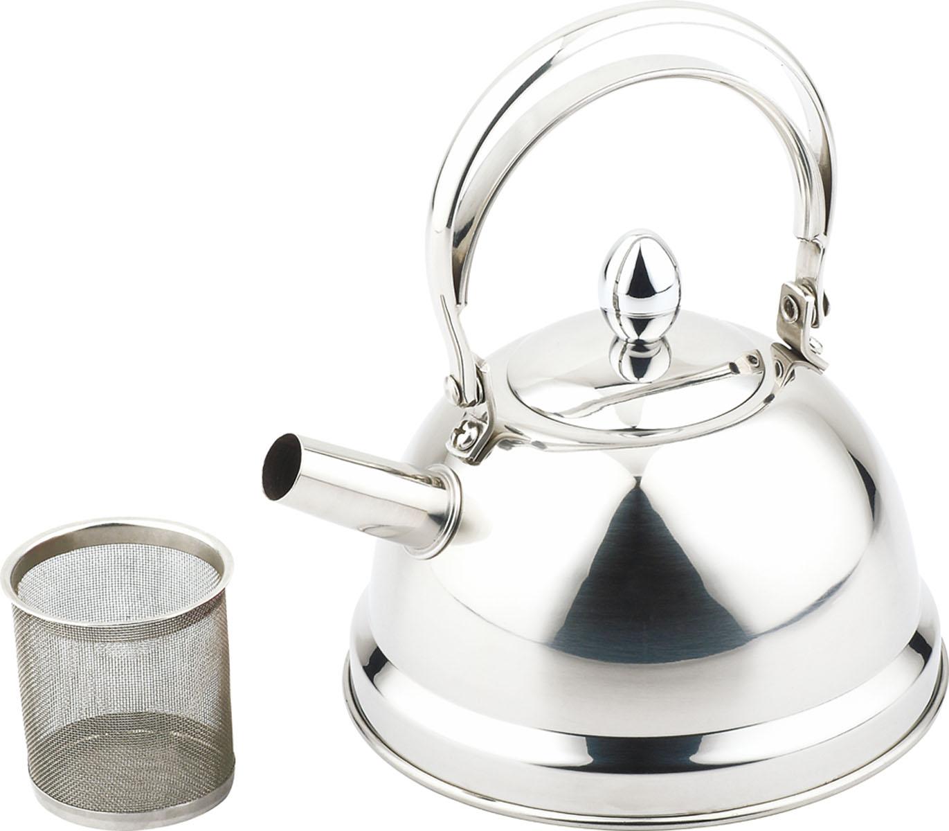 Чайник заварочный Bekker De Luxe, с ситечком, 0,8 л. BK-S441BK-S441Чайник Bekker De Luxe выполнен из высококачественной нержавеющей стали, что обеспечивает долговечность использования. Внешнее зеркальное покрытие придает приятный внешний вид. Капсулированное дно распределяет тепло по всей поверхности, что позволяет чайнику быстро закипать. Эргономичная подвижная ручка выполнена из нержавеющей стали. Чайник снабжен ситечком для заваривания. Можно мыть в посудомоечной машине. Пригоден для всех видов плит, включая индукционные. Диаметр (по верхнему краю): 5 см.Высота чайника (без учета крышки и ручки): 8,5 см.Высота чайника (с учетом крышки): 17,5 см.Диаметр основания: 14 см. Толщина стенки: 0,5 мм.Высота ситечка: 5,5 см.