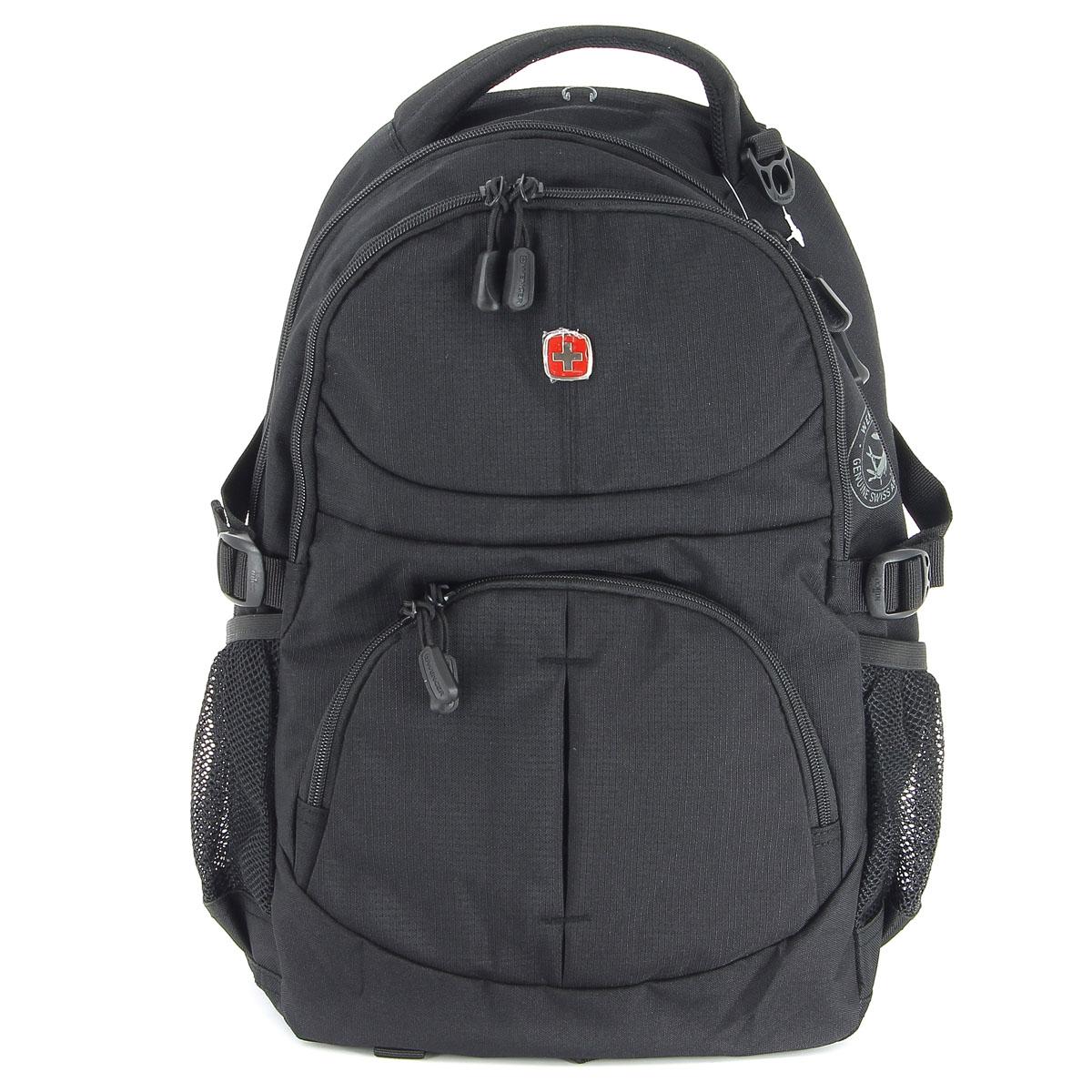 Рюкзак Wenger, цвет: черный, 33 см х 15 см х 45 см, 22 л3001202408