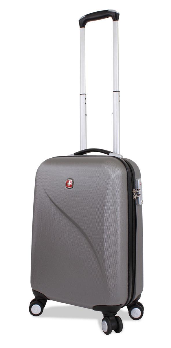Чемодан SwissGear Evo Lite, цвет: серый, 34 см х 19 см х 48 см, 31 лКомфортSwissGear Evo Lite отличает эргономичность, высокое качество и удобство в использовании. Современный и в то же время строгий дизайн идеально подойдет для деловых командировок и туристических поездок. Изготовленный из прочного поликарбоната корпус надежно сбережет Ваши вещи от повреждений. Легкая управляемость багажом обеспечивается системой 8 колес, способных вращаться на 360 градусов.Особенности чемодана:Высокая мобильность и легкость в управлении обеспечивается 8 колесами, вращающимися на 360 градусов.Алюминиевая телескопическая ручка с фиксатором гарантирует исключительное удобство в управлении чемоданом.Цифровой замок с трехзначным кодом TSA надежно обеспечивает безопасность багажа.Мягкие прочные эргономичные ручки с резиновым покрытием Soft-Touch для переноски обладают повышенной прочностью,обеспечивает комфорт,функциональность и долговечность.Модель оснащена регулируемыми ремнями для фиксации багажа.Чемодан имеет 2 отделения с регулируемыми ремнями для фиксации багажа, разделитель отделений на молнии со встроенным карманом и небольшим несессером на молнии. По всем вопросам гарантийного и постгарантийного обслуживания рюкзаков, чемоданов, спортивных и кожаных сумок, а также портмоне марок Wenger и SwissGear вы можете обратиться в сервис-центр, расположенный по адресу: г. Москва, Саввинская набережная, д.3. Тел: (495) 788-39-96, (499) 248-56-56, ежедневно с 9:00 до 21:00. Подробные условия гарантийного обслуживания приведены в гарантийном талоне, поставляемым в комплекте с каждым изделием. Бесплатный ремонт изделий производится при условии предоставления гарантийного талона и товарного/кассового чека, подтверждающего дату покупки.