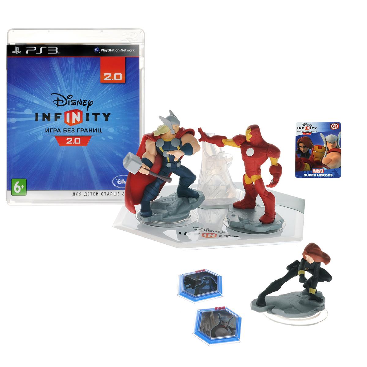 Disney Infinity 2.0 (Marvel). Стартовый набор (PS3), Avalanche Software