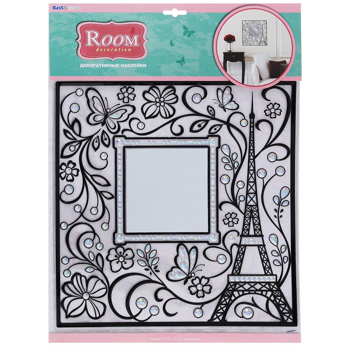 Наклейка для интерьера Room Decoration Эйфелева башня, 34 х 33 см
