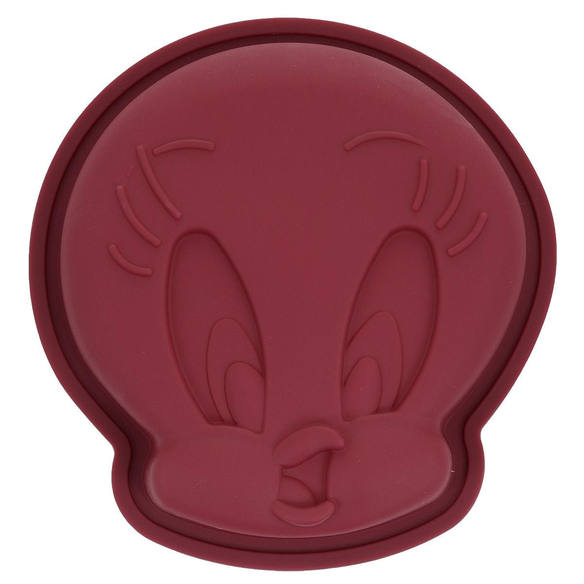 Форма для выпечки Bekker Цыпленок, силиконовая, цвет: бордовыйFS-91909Форма для выпечки Bekker Цыпленок изготовлена из силикона. Силиконовые формы для выпечки имеют много преимуществ по сравнению с традиционными металлическими формами и противнями. Они идеально подходят для использования в микроволновых, газовых и электрических печах при температурах до +250°С. В случае заморозки до -50°С. Можно мыть в посудомоечной машине. За счет высокой теплопроводности силикона изделия выпекаются заметно быстрее. Благодаря гибкости и антиприлипающим свойствам силикона, готовое изделие легко извлекается из формы. Для этого достаточно отогнуть края и вывернуть форму (выпечке дайте немного остыть, а замороженный продукт лучше вынимать сразу). Силикон абсолютно безвреден для здоровья, не впитывает запахи, не оставляет пятен, легко моется. Форма для выпечки Bekker Цыпленок - практичный и необходимый подарок любой хозяйке!