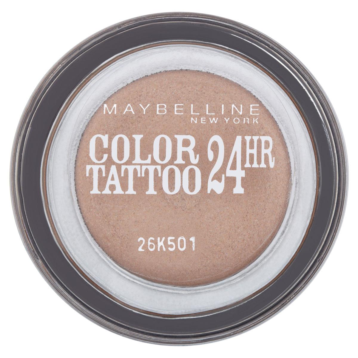 Maybelline New York Тени для век Color Tattoo 24 часа, оттенок 35, Бронзовый рай, 4 млSatin Hair 7 BR730MNТехнология тату-пигментов создает яркий, супернасыщенный цвет. Крем-гелевая текстура обеспечивает ультралегкое нанесение и стойкость на 24 часа.12 оттенков