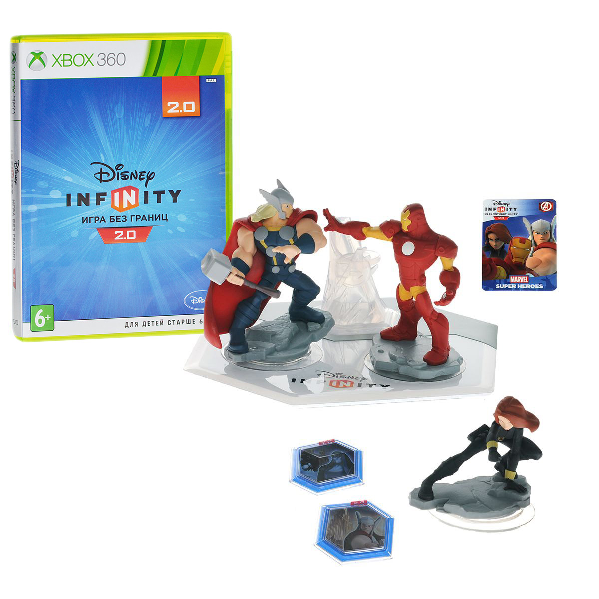 Disney Infinity 2.0 (Marvel). Стартовый набор (Xbox 360), Avalanche Software