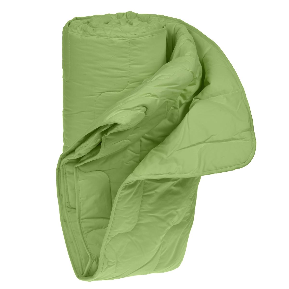 Одеяло облегченное OL-Tex Бамбук, наполнитель: бамбуковое волокно, цвет: фисташковый, 220 х 200 см531-105Великолепное облегченное одеяло OL-Tex Бамбук подарит вам ни с чем несравнимую мягкость и комфорт и согреет даже в очень холодное время года. При этом одеяло невероятно легкое. Одеяло из коллекции Бамбук создано с использованием натурального и экологически чистого бамбукового волокна. Чехол одеяла фисташкового цвета выполнен из тика и перкаля, оформлен фигурной стежкой и кантом по краю. Натуральная, экологически чистая основа бамбукового волокна обладает природными антибактериальными и дезодорирующими свойствами, останавливает рост и развитие бактерий, препятствует появлению неприятных запахов. Эти качества сохраняются даже после многократных стирок. Идеально подходит людям, страдающим аллергией и астмой. Основные свойства бамбукового наполнителя: - отличная воздухопроницаемость и впитывающие свойства, - дезодорирующие и бактерицидные свойства, - гигиеничность и гипоаллергенность. Легкое, мягкое, воздушное одеяло прекрасно подойдет всем, кто ценит здоровый сон. Одеяло сохраняет прохладу в период жаркого лета. Нежное, теплое и красивое одеяло из коллекции Бамбук - это комфорт и уют в Вашей спальне. Подарите себе здоровый сон с бамбуковым одеялом! Рекомендации по уходу:- Ручная и машинная стирка при температуре 30°С.- Не гладить.- Не отбеливать. - Нельзя отжимать и сушить в стиральной машине. - Вертикальная сушка. Размер одеяла: 220 см х 200 см. Материал чехла: тик, перкаль (100% хлопок). Материал наполнителя: бамбуковое волокно/микроволокно OL-Tex (100% полиэстер). Плотность: 200 г/м2.