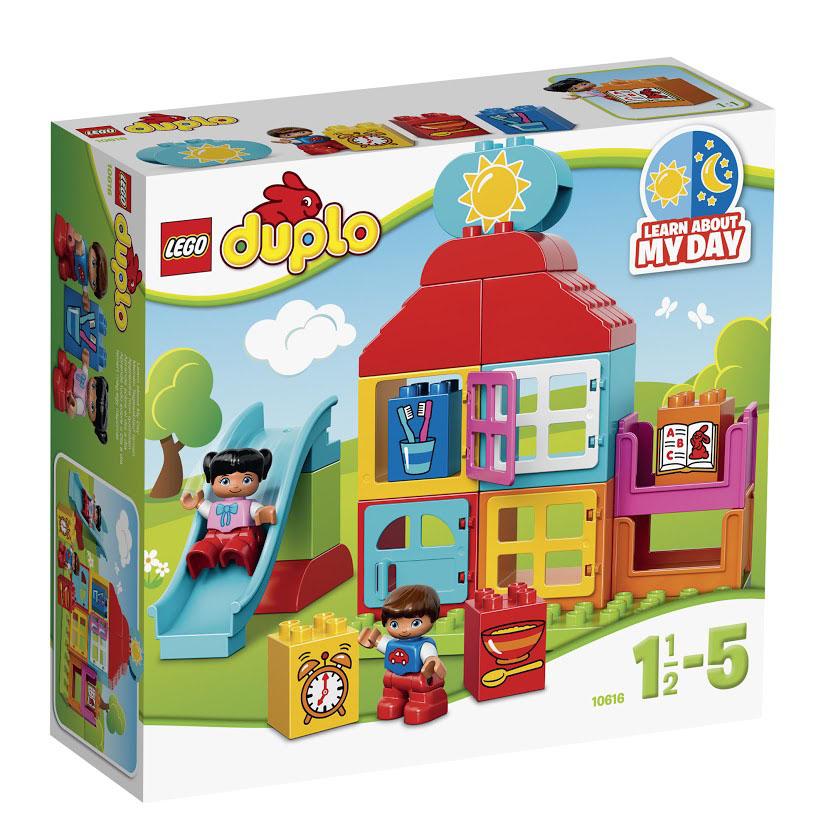 LEGO DUPLO Конструктор Мой первый игровой домик 10616 lego конструктор lego duplo мой первый игровой домик 10616