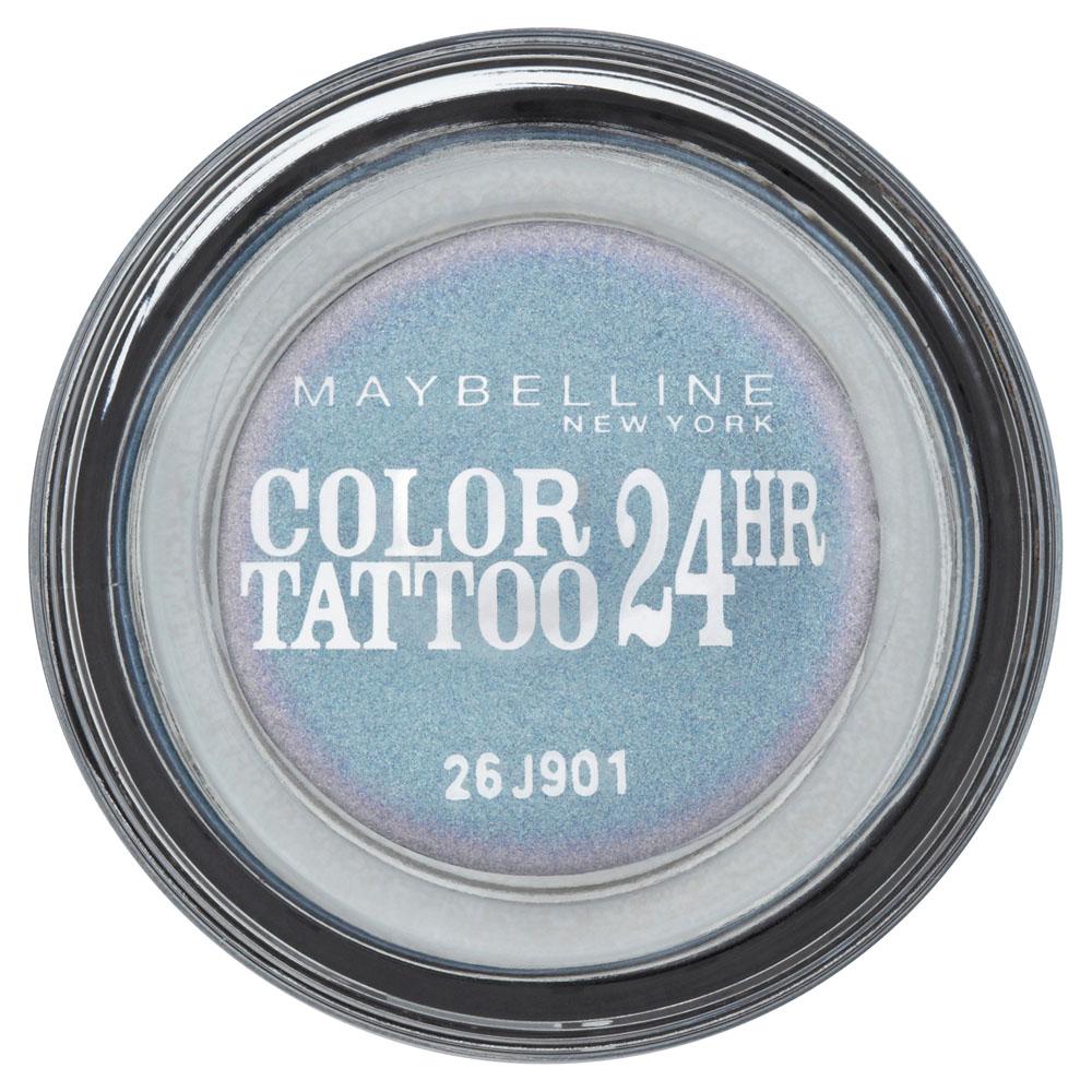 Maybelline New York Тени для век Color Tattoo 24 часа, оттенок 87, Загадочный сиреневый, 4 млDB4010(DB4.510)/голубой/розовыйТехнология тату-пигментов создает яркий, супернасыщенный цвет. Крем-гелевая текстура обеспечивает ультралегкое нанесение и стойкость на 24 часа.12 оттенков