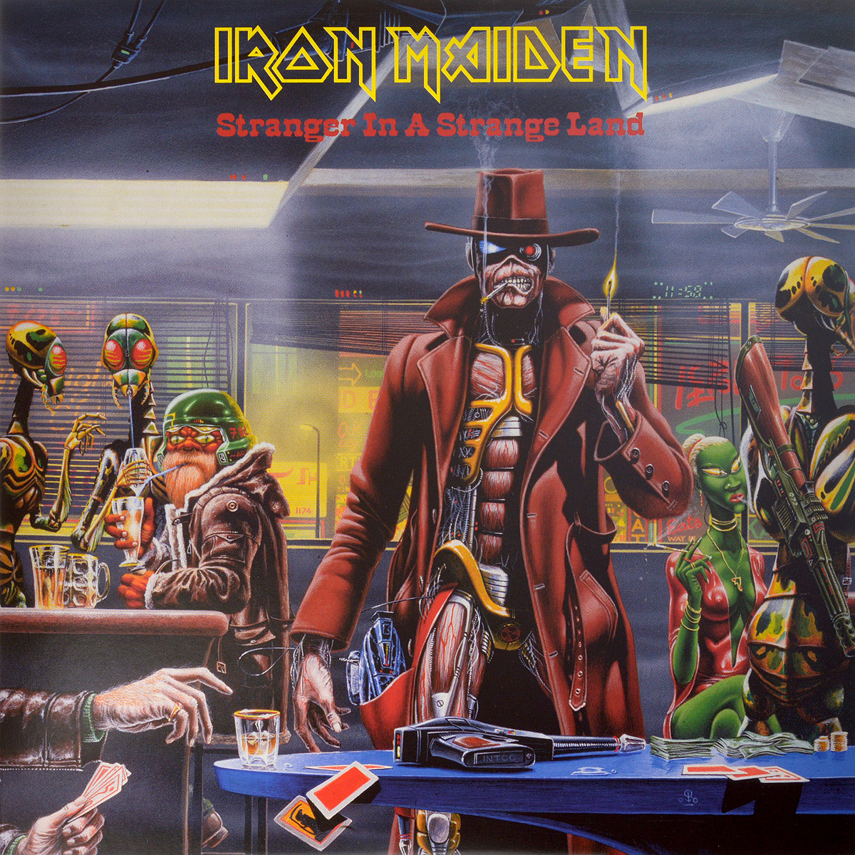 Iron Maiden Iron Maiden. Stranger In A Strange Land (LP) iron maiden the book of souls 3 lp