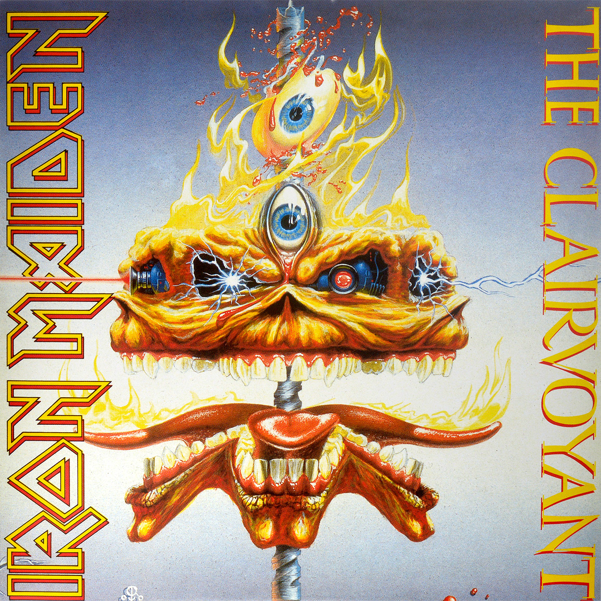 Iron Maiden Iron Maiden. The Clairvoyant (LP) iron maiden – the book of souls live chapter 3 lp