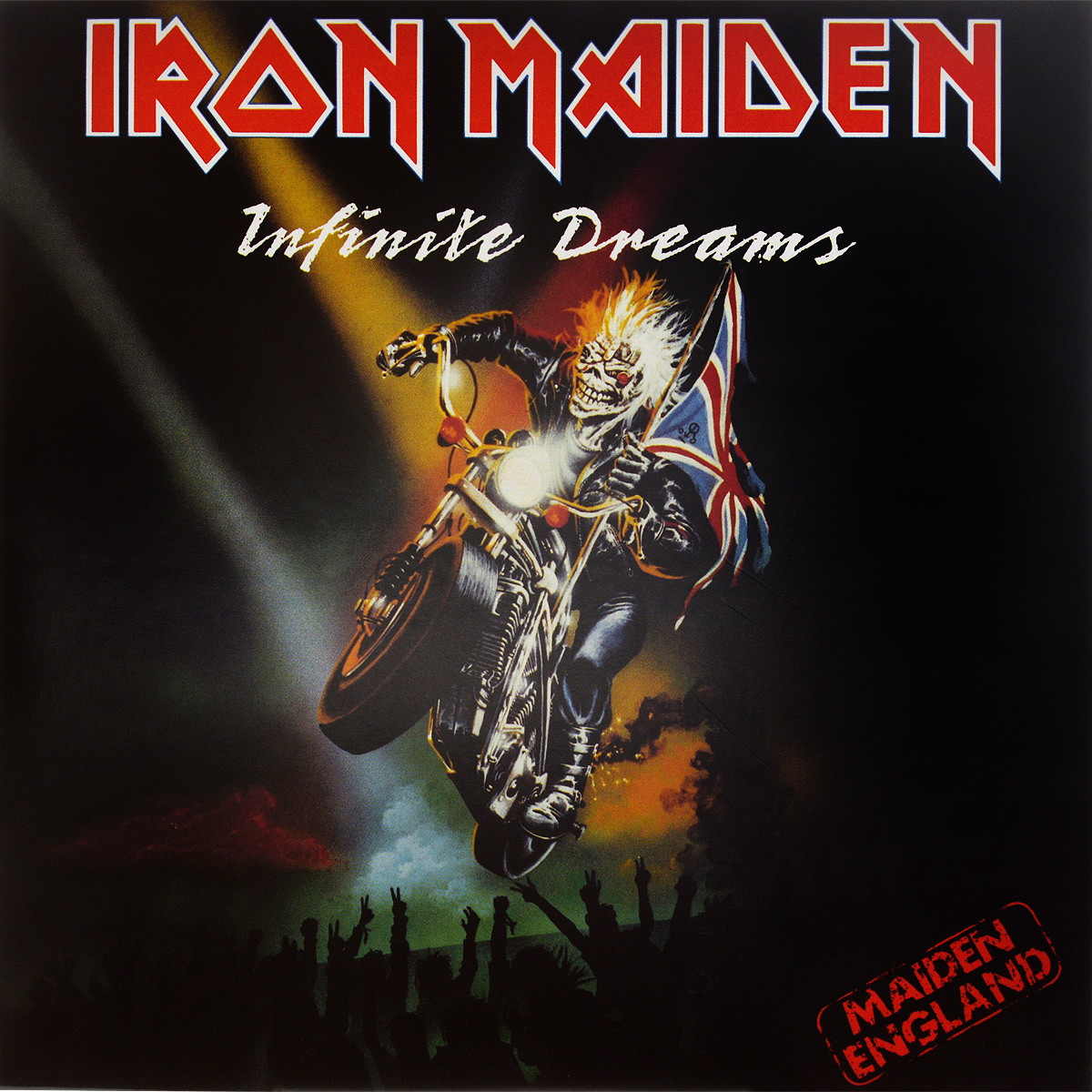 Iron Maiden Iron Maiden. Infinite Dreams (LP) iron maiden – the book of souls live chapter 3 lp