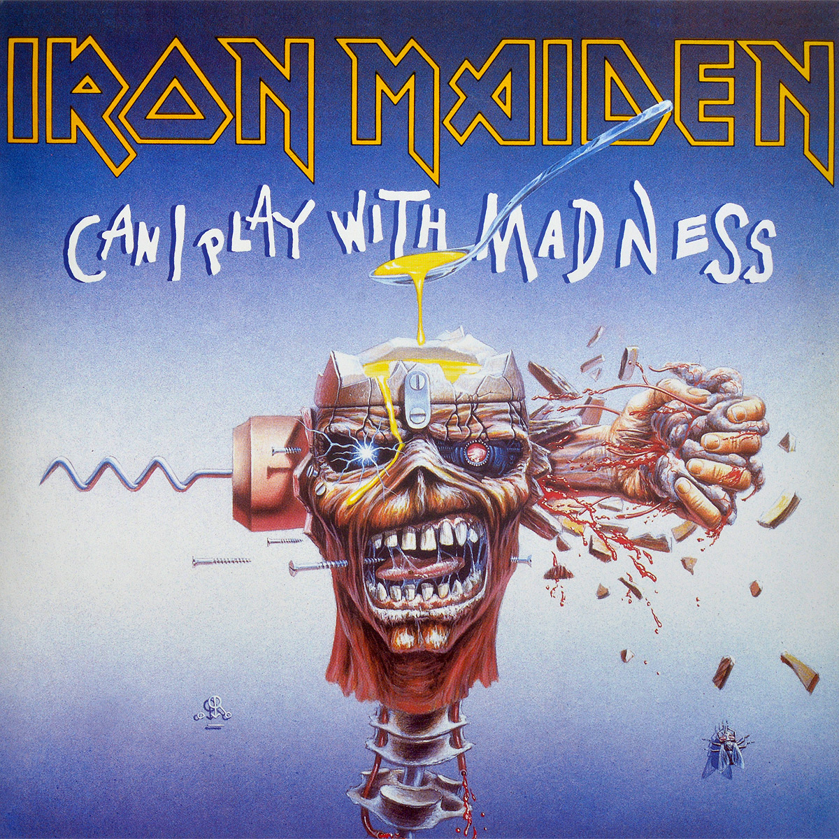 Iron Maiden Iron Maiden. Can I Play With Madness (LP) джемпер liu jo uomo mlj16ip202 girocamox blunavy page 11