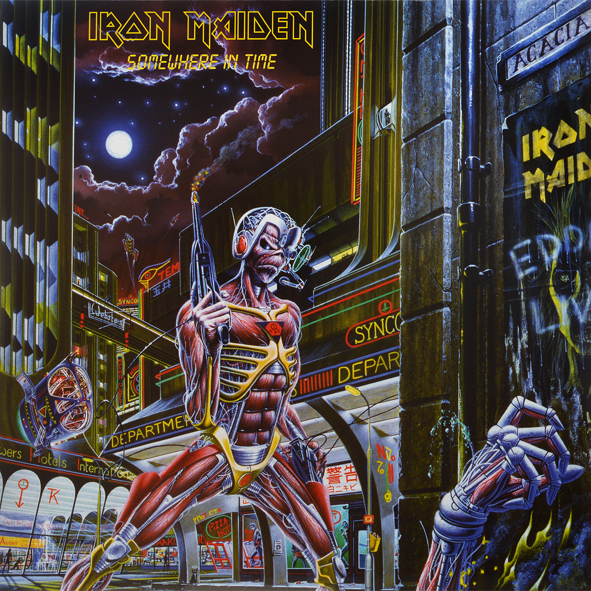 Iron Maiden Iron Maiden. Somewhere In Time (LP) виниловая пластинка iron maiden somewhere in time