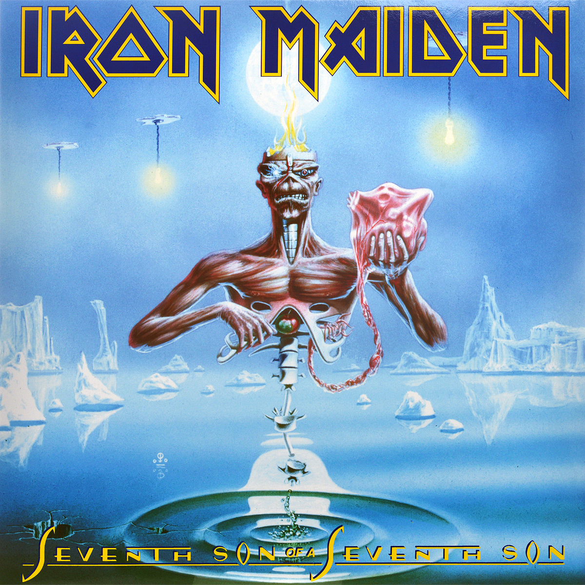 Iron Maiden Iron Maiden. Seventh Son Of A Seventh Son (LP) iron maiden the book of souls 3 lp
