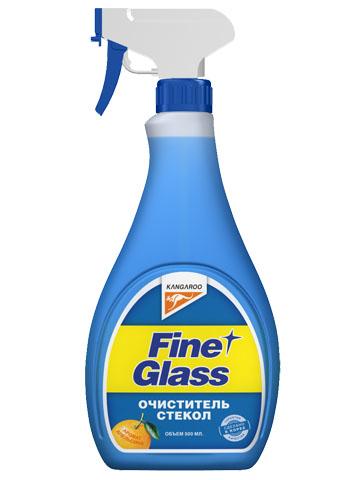 Очиститель стекол Kangaroo Fine Glass, с ароматом апельсина, с салфеткой, 500 мл72/14/13Очиститель стекол Kangaroo Fine Glass предназначен для эффективной очистки поверхности стекла от различных загрязнений. Полностью удаляет жировую пленку. Содержит апельсиновый ароматизатор. В комплекте прилагается специальная салфетка.