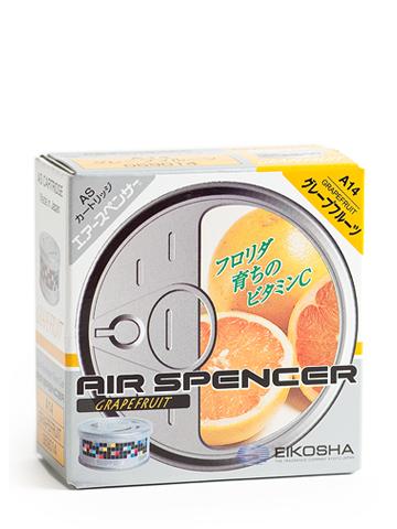 Ароматизатор меловый Eikosha Grape Fruits3263Меловый ароматизатор Eikosha Grape Fruits - это приятное приобретение в салон автомобиля. Приятный и ненавязчивый аромат придаст уютную и комфортную обстановку в машине на долгое время, а компактный размер позволит разместить ароматизатор в любой части салона.