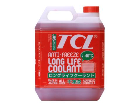 Антифриз TCL LLC для Toyota и Daihatsu, готовый, цвет: красный, 4 л790009Высококачественная охлаждающая жидкость TCL LLC, препятствующая перегреву двигателей даже в сильную жару и замораживанию системы охлаждения в сильный мороз. Защищает от коррозии металлические части системы охлаждения и удаляет с них ранее образовавшиеся окислы. Является отличной смазкой для помп. Сохраняет свои качества в системах охлаждения в течение 2 лет. Не замерзает до температуры -40°С. Антифриз красного цвета предназначен для автомобилей TOYOTA и DAIHATSU.Состав: этиленгликоль, комплекс присадок.