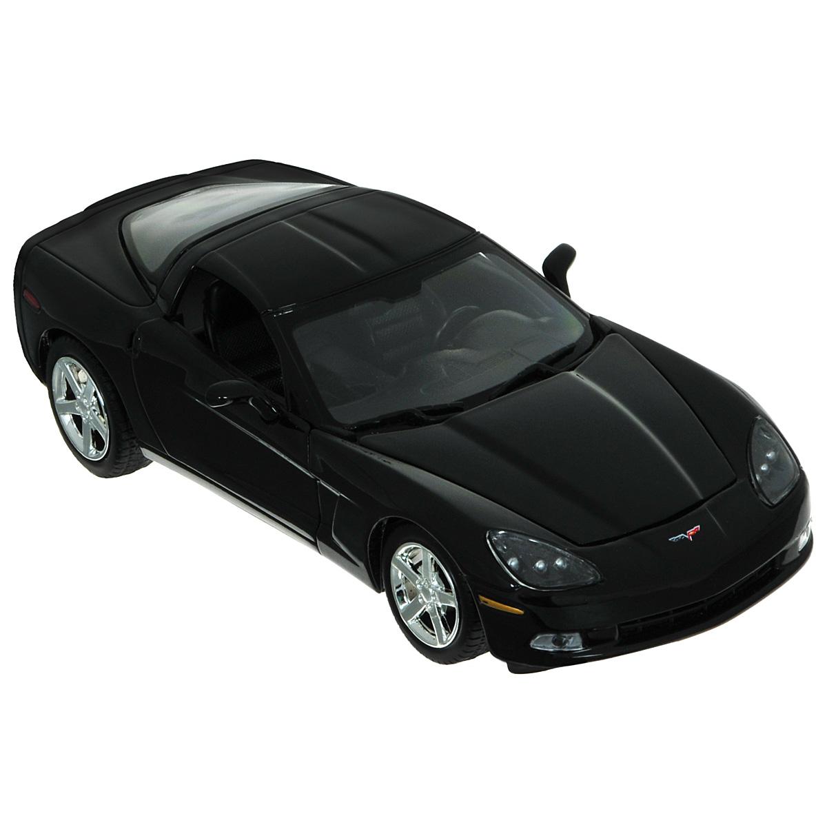 MotorMax Модель автомобиля Corvette C6 2005 motormax модель автомобиля corvette 1967 цвет черный