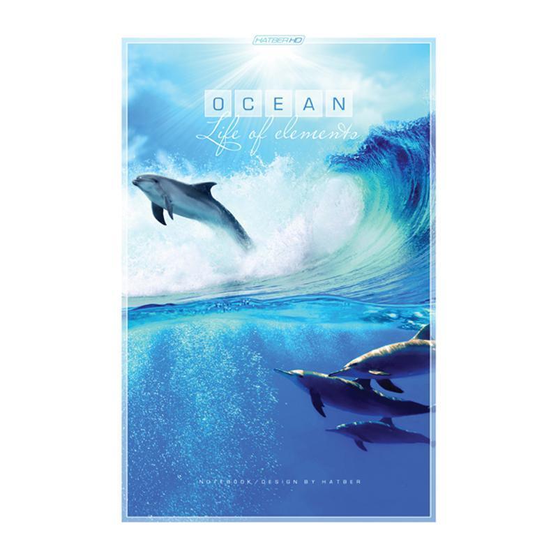 HD Бизнес-блокнот 96л А5ф 80 гр/кв.м клетка тв.переплет-Ocean-72523WDПремиум Бизнес-блокнот в твердом переплёте. Листаж - 96 листов А5 формата. Клетка Тип разметки: В клетку; тип бумаги: Шелковисто-матовая; формат: А5; обложка: Книжная; пол: унисекс; упаковка: Коробка картонная