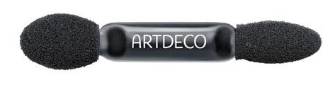 ARTDECO Аппликатор для теней Trio, двусторонний1301210Двойной аппликатор с разными наконечниками.Подходит для дуо и трио-футляра для теней. Для многоразового использования. Можно мыть. Товар сертифицирован.