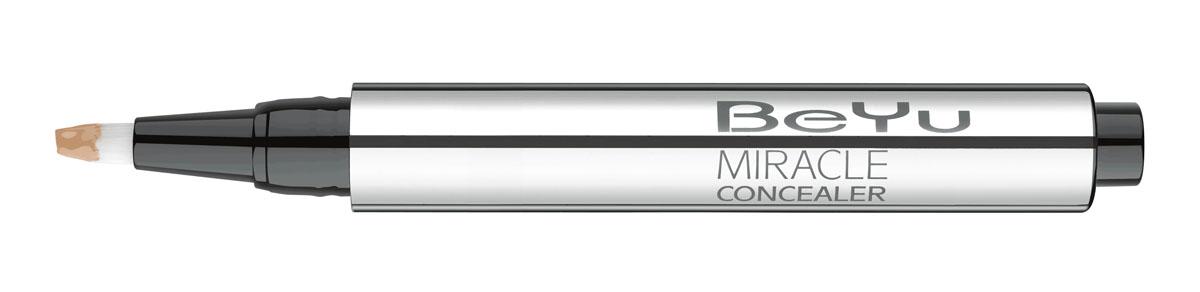 BeYu Консилер Hydro Miracle Concealer, увлажняющий, тон №6, 2,5 мл28032022Увлажняющий консилер BeYu Hydro Miracle Concealer быстро и эффективно скрывает темные круги под глазами.Светоотражающие частицы скрывают морщинки и мелкие несовершенства кожи, создавая идеальный ровный тон. Инновационный состав увлажняет и защищает нежную кожу вокруг глаз.Благодаря аппликатору в форме кисти и легкой текстуре, консилер легко наносить на зону вокруг глаз и обеспечивает комфорт в течении всего дня.Научные тесты показали, что при ежедневном использовании (28 дней) повышается увлажненность кожи увеличивается на 37%, кожа становится более эластичной. Подходит для чувствительной кожи. Товар сертифицирован.