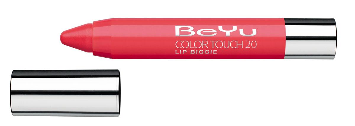 BeYu Блеск-бальзам для губ Color Touch Lip Biggie, тон №20, 2.8 г5010777139655Блеск-бальзам для губ Color Touch Lip Biggie сочетает в себе помаду, блеск и бальзам для губ, который бережно ухаживает за кожей губ, придавая им нежное сияние.Блеск-бальзам для губ имеет выкручивающийся механизм.