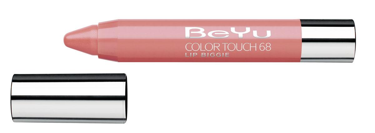 BeYu Блеск-бальзам для губ Color Touch Lip Biggie, тон №68, 2.8 г28032022Блеск-бальзам для губ Color Touch Lip Biggie сочетает в себе помаду, блеск и бальзам для губ, который бережно ухаживает за кожей губ, придавая им нежное сияние.Блеск-бальзам для губ имеет выкручивающийся механизм.