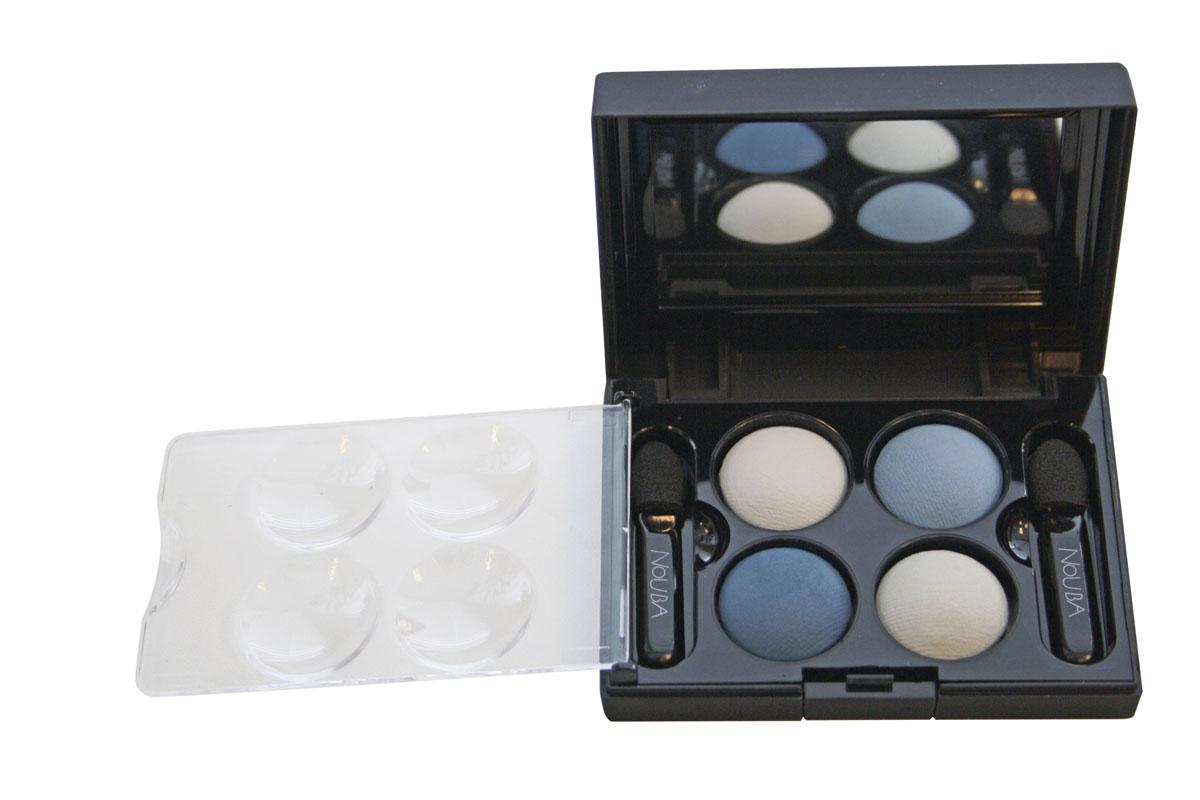 NoUBA Тени для век Quattro Eyeshadow Mat, запеченные, 4 цвета, тон №645, 2,4г28032022Мягкая бархатистая текстура дает тончайшее покрытие, обеспечивая при этом насыщенный цвет. Особые минеральные пигменты в составе создают оптический anti-wrinkle effect, т.е. визуально минимизируют морщинки, придавая взгляду открытость, четкость и выразительность. Эти соблазнительные оттенки создают взгляд, полный чувственности и элегантности. Для получения более глубокого и более совершенного цвета и его сохранения на длительное время, используйте для нанесения на веки увлажненную кисточку для теней.Товар сертифицирован.