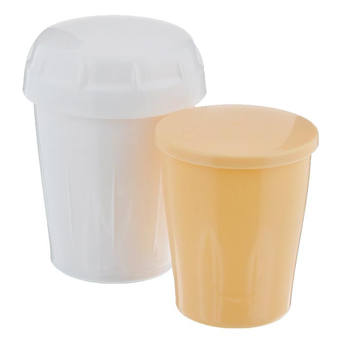 Набор Tescoma Delicia: отделитель белков, шейкер391602Набор Tescoma Delicia состоит из шейкера и отделителя белков от желтков. Предметы набора выполнены из пищевого пластика. Набор отлично подходит для легкого отделения белка от желтка и быстрого смешивания яйца с молоком, мукой, специями, а также при изготовлении смесей на омлеты, блинчики и тонкого жидкого теста. Подходит для посудомоечной машины.