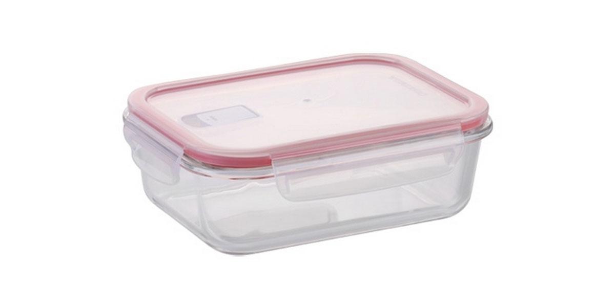 Контейнер Tescoma Freshbox Glass, 1,1 лFD-59Контейнер Tescoma Freshbox Glass, изготовленный из термостойкого боросиликатного стекла, отлично подходит для хранения, запекания и подогрева пищи. Контейнер оснащен герметичной пластиковой крышкой с силиконовой прокладкой, благодаря чему, продукты более длительное время остаются свежими и не вытекают в процессе транспортировки. Крышка снабжена клапаном для отвода пара, что позволяет разогревать пищу в микроволновой печи с закрытой крышкой. Контейнер стойкий к температурам от -18°C до 110°C (с крышкой) и до 240°C (без крышки).Подходит для холодильников, морозильных камер, всех видов духовок (без крышки), микроволновой печи и посудомоечной машины.