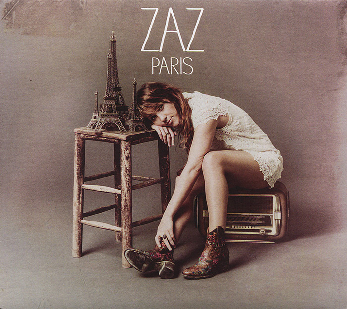 Zaz Zaz. Paris. Limited Edition (CD + DVD) the real liddy james