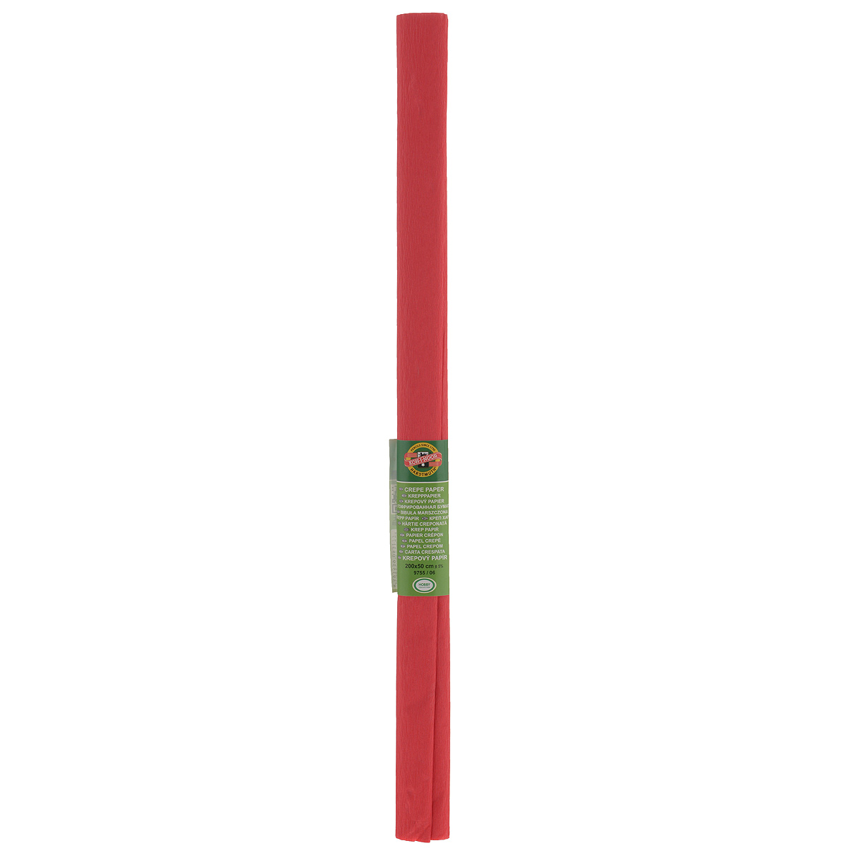 Бумага гофрированная Koh-I-Noor, цвет: светло-красный, 50 см x 2 м55052Гофрированная бумага Koh-I-Noor - прекрасный материал для декорирования, изготовления эффектной упаковки и различных поделок. Бумага прекрасно держит форму, не пачкает руки, отлично крепится и замечательно подходит для изготовления праздничной упаковки для цветов.