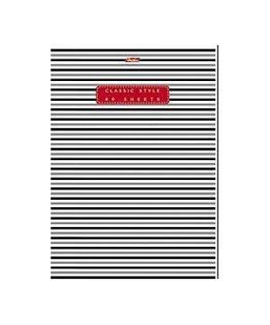 Тетрадь 80л А4ф клетка на скобе серия -Classic Style-80Т4B380 листов. Внутренний блок 60 гр/кв.м. Тип разметки: В клетку; тип бумаги: Шелковисто-матовая; формат: А4; обложка: картон; пол: унисекс; возраст: старшие классы; способ крепления: Скрепка; упаковка: Коробка картонная