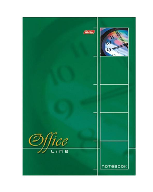 Блокнот 60л А4ф клетка жесткая подложка на спирали-Office Line- Зеленый60Б4B1сп_01569Блокнот на жёсткой подложке на спирали. Листаж - 60 листов. А4 формата. Тип разметки: В клетку; тип бумаги: Шелковисто-матовая; формат: А4; обложка: Картон; пол: унисекс; способ крепления: Спираль; упаковка: Коробка картонная
