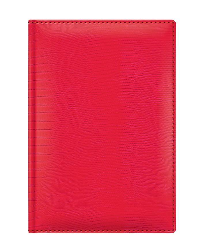 Материал обложки – заменитель кожи Fiscаgomma (Италия), обложка продублирована поролоном, по краю обложки – отстрочка, скругленные уголки. Внутренний блок – 352 страницы, прошитый переплет, каптал, бумага – офсет высокой степени белизны,печать в две краск
