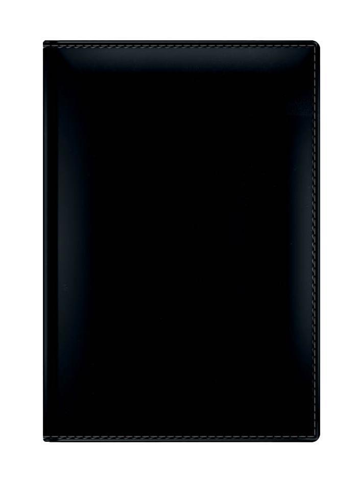 Berlingo Ежедневник Caprice датированный 176 листов цвет черный72523WDВнутренний блок отпечатан на тонированной бумаге благородного бледно-желтого цвета. Обложка продублирована поролоном, по краю обложки – отстрочка, скругленные уголки. Датированный внутренний блок – 352 страницы на 2015-2017 годы, прошитый переплет, каптал, бумага – офсет в Тип разметки: В линейку; тип бумаги: Шелковисто-матовая; формат: А5; обложка: Искусственная кожа; пол: Мужской; способ крепления: Каптал; упаковка: Коробка картонная