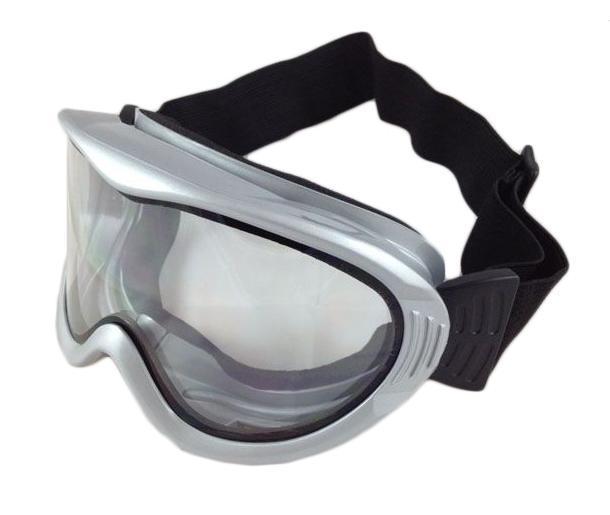 Очки горнолыжные Sky Monkey/Vcan, цвет: серебро. VSE06_SR20 TRKarjala Comfort NNNСпортивные горнолыжные очки Vcan надежно защитят Ваши глаза во время катания на лыжах или сноуборде.Двойные линзы выполнены из противоударного поликарбоната для большей защиты глаз. Отличительная особенность поликарбоната - самая высокая устойчивость к ударным нагрузкам. Очки с поликарбонатными линзами наиболее травмобезопасны. Позрачные линзы обеспечивают 100% защиту от ультрафиолетовых лучей (UV400). Противотуманное покрытие на внутренней стороне линз предотвращает запотевание оптики. Характеристики:Материал: поликарбонат, пластик. Размеры упаковки: 19,5 см х 9,5 см х 10,5 см.