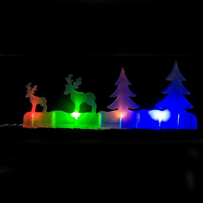 Новогодняя декоративная фигурка Lunten Ranta С наступающим, с подсветкой, 24,5 х 8,5 см235-036Новогодняя декоративная фигурка Lunten Ranta С наступающим выполнена из высококачественного акрила. Особенностью данной фигурки является наличие светодиодного устройства, благодаря которому украшение светится. Светодиоды расположены внутри корпуса и при включении фигурка наполняется мягким светом. Такая оригинальная фигурка оформит интерьер вашего дома или офиса в преддверии Нового года. Оригинальный дизайн и красочное исполнение создадут праздничное настроение. Кроме того, это отличный вариант подарка для ваших близких и друзей. УВАЖАЕМЫЕ КЛИЕНТЫ!Фигурка работает от 3-х батареек типа АА, напряжением 1.5V. Батарейки не входят в комплект.
