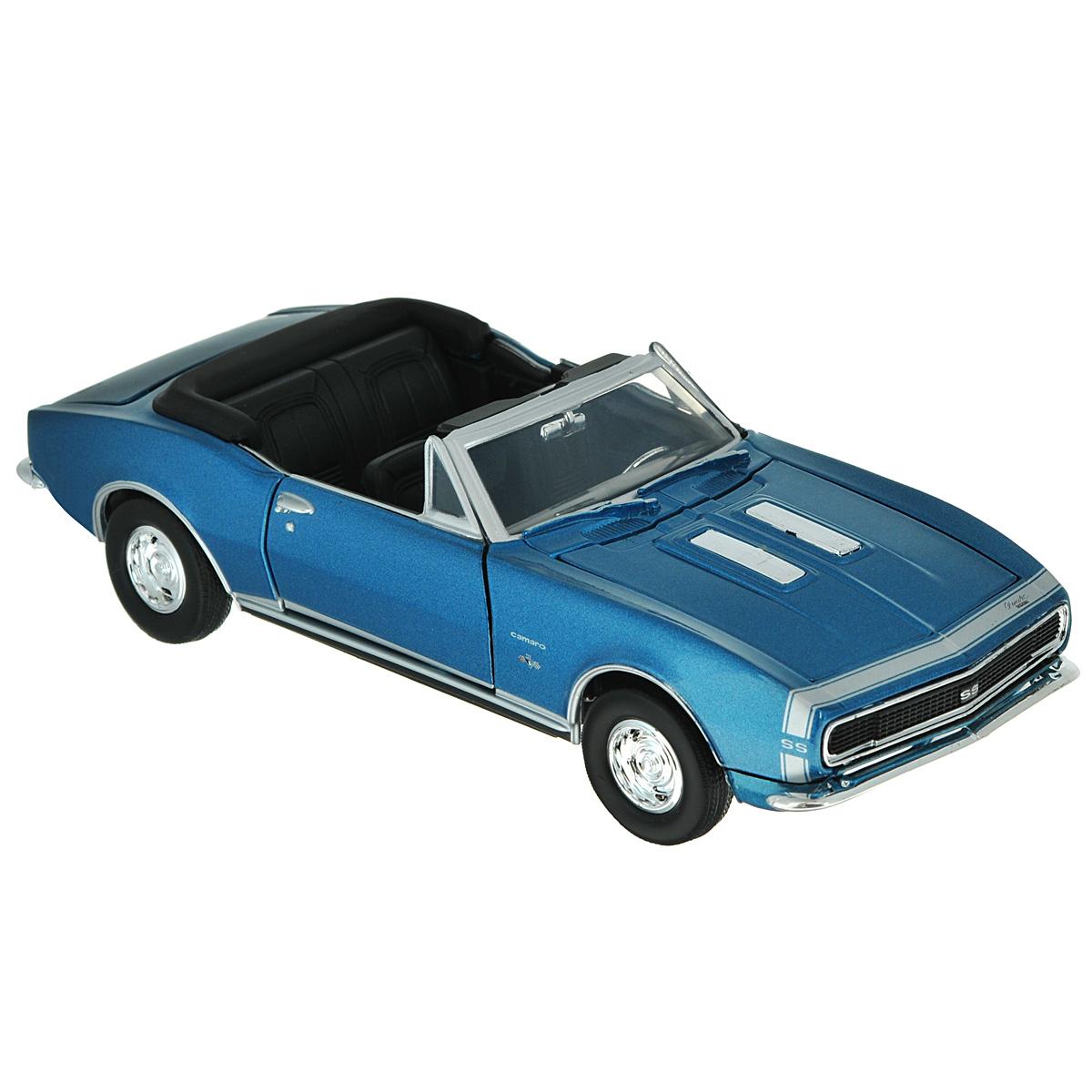 MotorMax Модель автомобиля Chevy Camaro SS 1967 motormax модель автомобиля corvette 1967 цвет черный