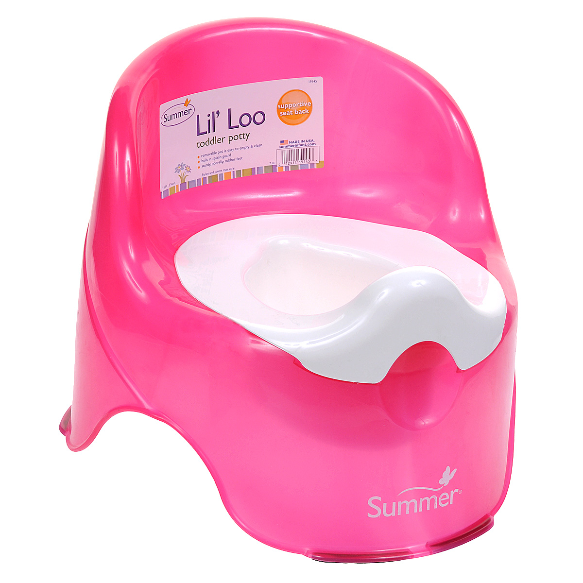 Горшок  Lil' Loo , цвет: малиновый -  Горшки и адаптеры для унитаза