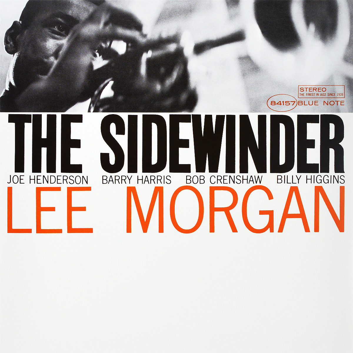 Ли Морган Lee Morgan. The Sidewinder (LP) пол морган