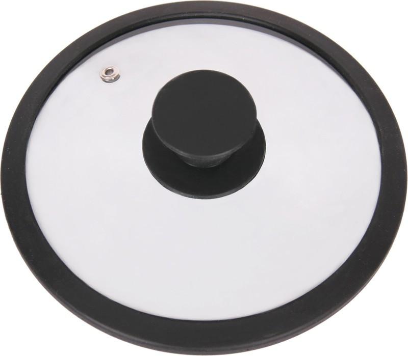 Крышка стеклянная Winner, цвет: черный. Диаметр 20 см115510Крышка Winner изготовлена из термостойкого стекла с ободом из силикона. Крышка оснащена отверстием для выпуска пара. Ручка, выполненная из термостойкого бакелита с силиконовым покрытием, защищает ваши руки от высоких температур. Крышка удобна в использовании и позволяет контролировать процесс приготовления пищи. Характеристики:Материал:стекло, силикон, бакелит. Диаметр: 20 см. Изготовитель: Германия. Производитель: Китай. Размер упаковки: 21 см х 21 см х 4 см. Артикул: WR-8302.