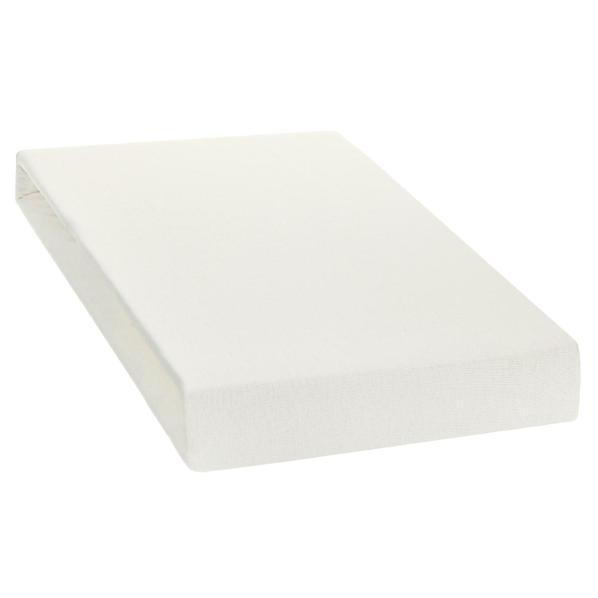 Простыня на резинке Tete-a-Tete, цвет: ваниль, 180 х 200 см74-0120Однотонная простыня на резинке Tete-a-Tete выполнена из натурального хлопка. Высочайшее качество материала гарантирует безопасность не только взрослых, но и самых маленьких членов семьи. Простыня гармонично впишется в интерьер вашего дома и создаст атмосферу уюта и комфорта.Особенности коллекции Tete-a-Tete:- выдерживает более 100 стирок практически без изменения внешнего вида,- модные цвета и стойкие оттенки,- минимальная усадка,- надежные резинки и износостойкая ткань,- безупречное качество,- гиппоаллергенно.Коллекция Tete-a-Tete специально создана для практичных людей, которые ценят качество и долговечность вещей, окружают своих близких теплотой и заботой.Высота до 25 см.