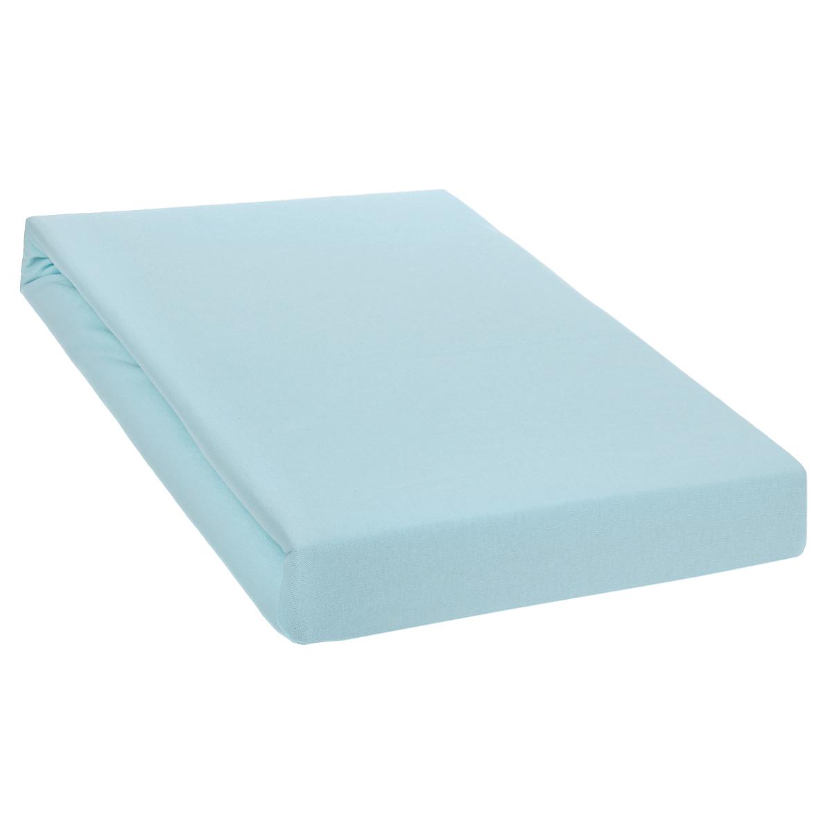 Простыня на резинке Tete-a-Tete, цвет: роса, 200 см х 200 смF0150739RAОднотонная простыня на резинке Tete-a-Tete выполнена из натурального хлопка. Высочайшее качество материала гарантирует безопасность не только взрослых, но и самых маленьких членов семьи. Простыня гармонично впишется в интерьер вашего дома и создаст атмосферу уюта и комфорта.Особенности коллекции Tete-a-Tete:- выдерживает более 100 стирок практически без изменения внешнего вида,- модные цвета и стойкие оттенки,- минимальная усадка,- надежные резинки и износостойкая ткань,- безупречное качество,- гиппоаллергенно.Коллекция Tete-a-Tete специально создана для практичных людей, которые ценят качество и долговечность вещей, окружают своих близких теплотой и заботой.