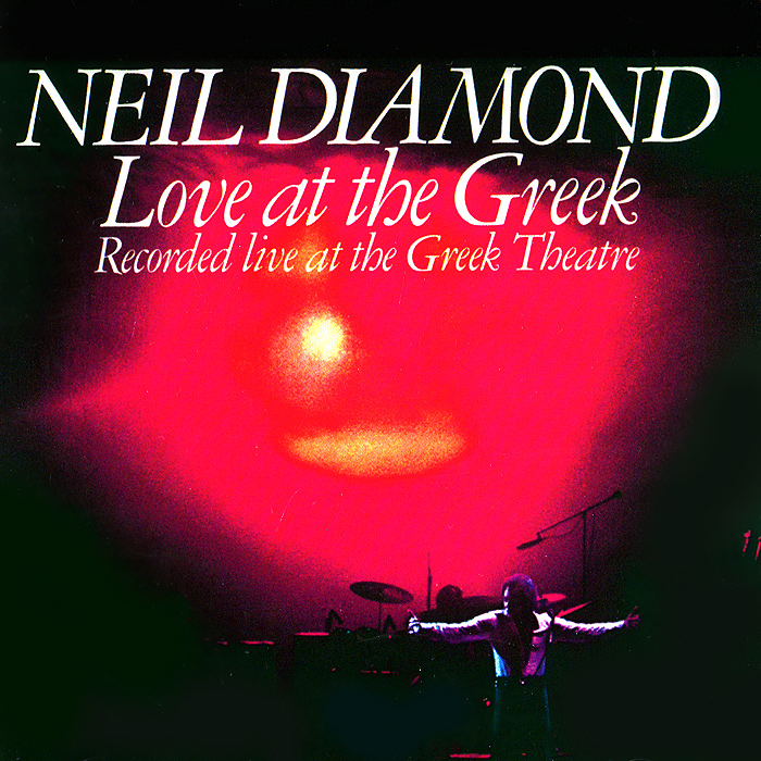 Нил Даймонд Neil Diamond. Love At The Greek neil barrett футболка
