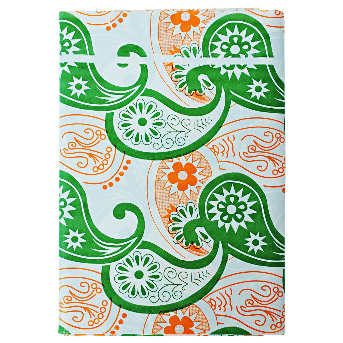 Скатерть Boyscout, прямоугольная, цвет: зеленый, оранжевый, 110x 150 смВетерок 2ГФПрямоугольная скатерть Boyscout выполнена из полиэстера высокого давления и декорирована красивыми узорами.Такая скатерть идеально подойдет для пикников и отдыха на природе.