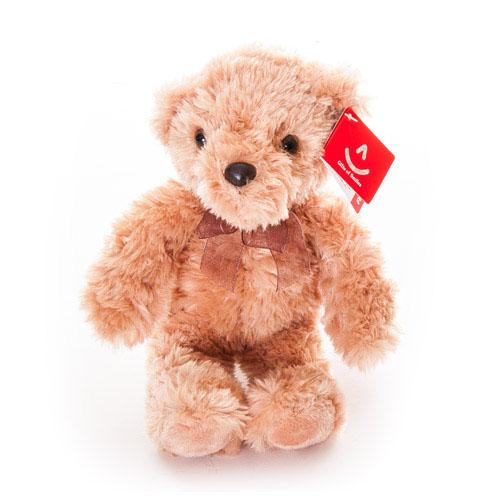 """Мягкая игрушка Aurora """"Медведь"""", цвет: светло-коричневый, 24 см"""