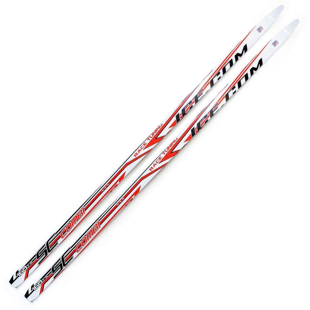 Беговые лыжи Ice.com Combi 2015 , цвет: красный, рост 150 смN90915Лыжи Ice.com Combi (без насечкой) предназначены для активного катания и прогулок по лыжне как классическим стилем, так и коньковым (свободным) ходом. Особенности:Технология CAP - высокотехнологичный ABS пластик;Скользящая поверхность из экструдированного полиэстера;Облегченный деревянный клин c воздушными каналами;